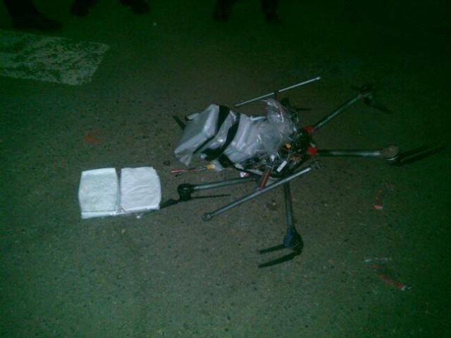 Yes, a meth-laden drone crashed near the US/Mexico border.  http://t.co/jXpL2kEBgR http://t.co/dTTaeRkInj