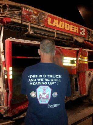 """""""this is 3 truck and we're still heading up.""""- ladder 3 ..."""