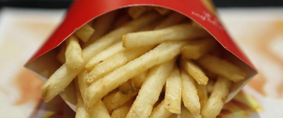 Silicone nell'olio delle patatine fritte di McDonald's
