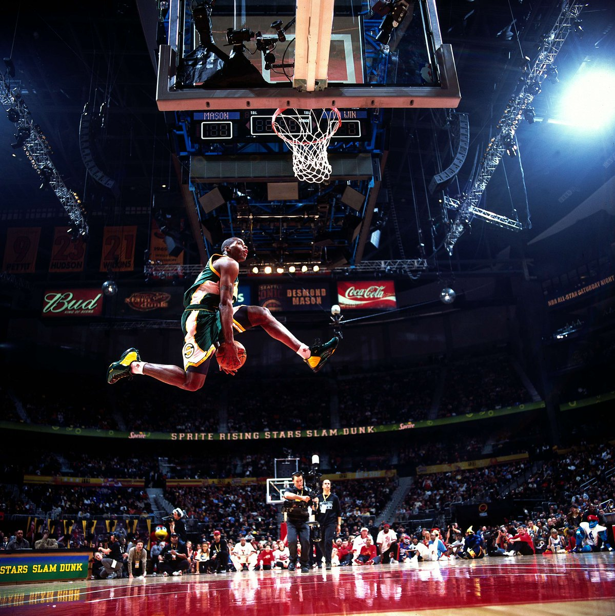 "2018 NBA All-Star On Twitter: ""#TBT...Desmond Mason Goes"