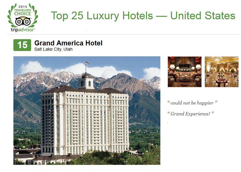 We've been named one of the top #luxury #hotels in the US by @TripAdvisor! Thank you for all the reviews! #honored http://t.co/FL62KPBZzQ