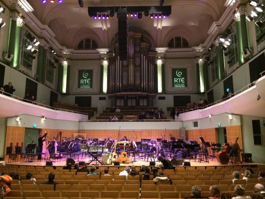 This National Concert Hall in Dublin is a lovely venue, and - bar a handful of tickets - it's sold out. http://t.co/vwcjYKT6gG
