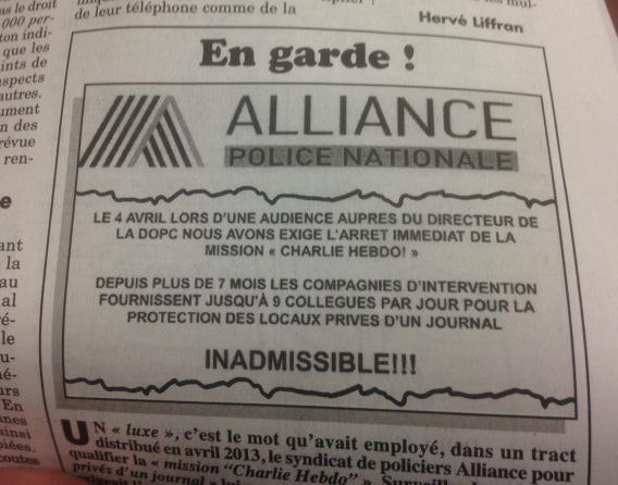 Ah le flair de certains policiers ! (via le @canardenchaine demain)