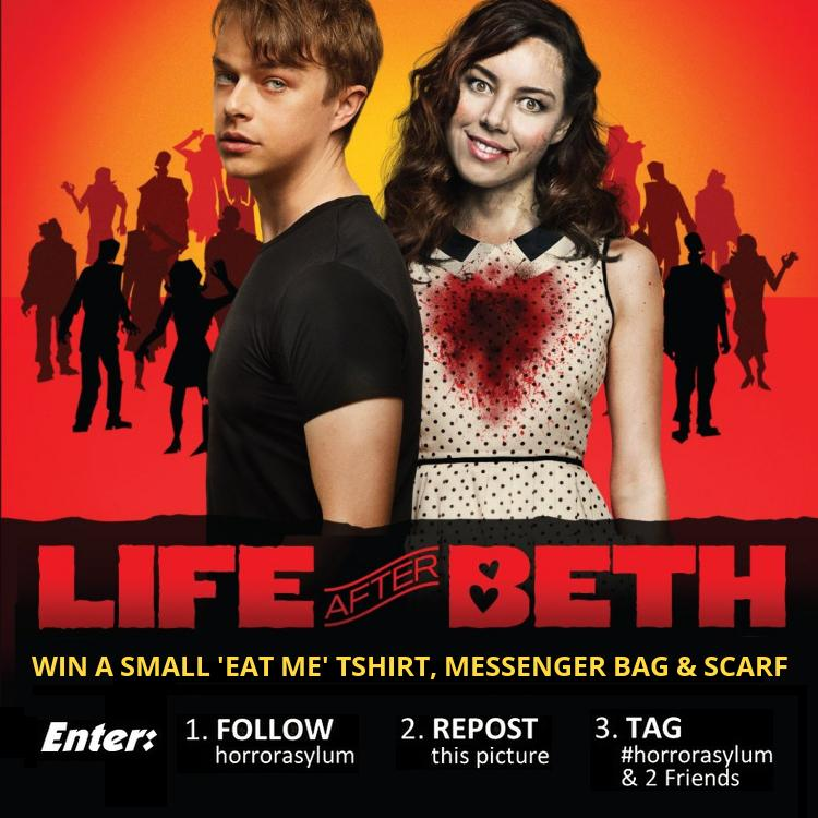 WIN a LIFE AFTER BETH small 'EAT ME' Tshirt, Messenger Bag & Scarf @LifeAfterBethUK #lifeafterbeth SIMPLY RT & SHARE http://t.co/JG95c0gBWM
