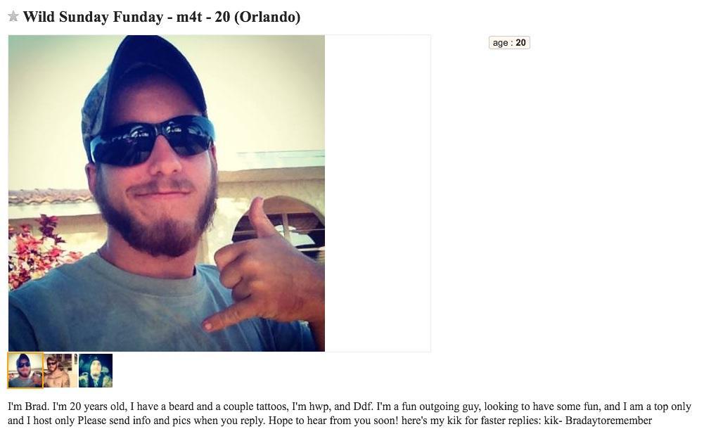 Craigslist hookup Orlando