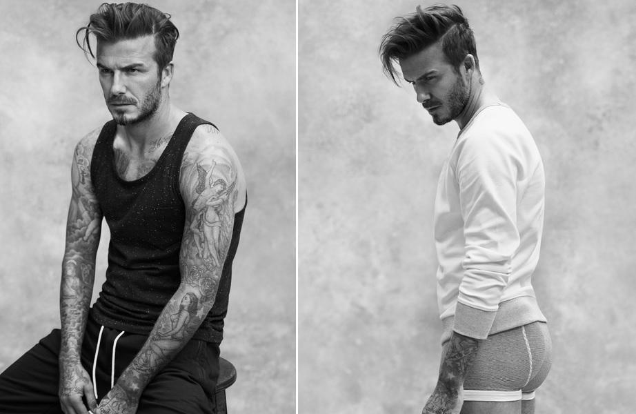 Fotos de David Beckham de cueca