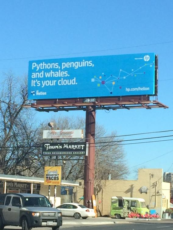 "So wait, ""whales"" ... This billboard is referencing Docker? http://t.co/SGaL1SQq13"