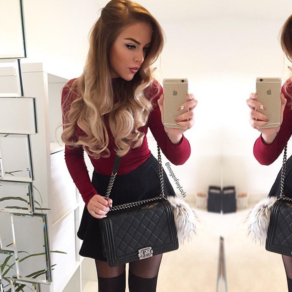 "Hair On Twitter: ""Latte Blonde #FoxyLocks By"