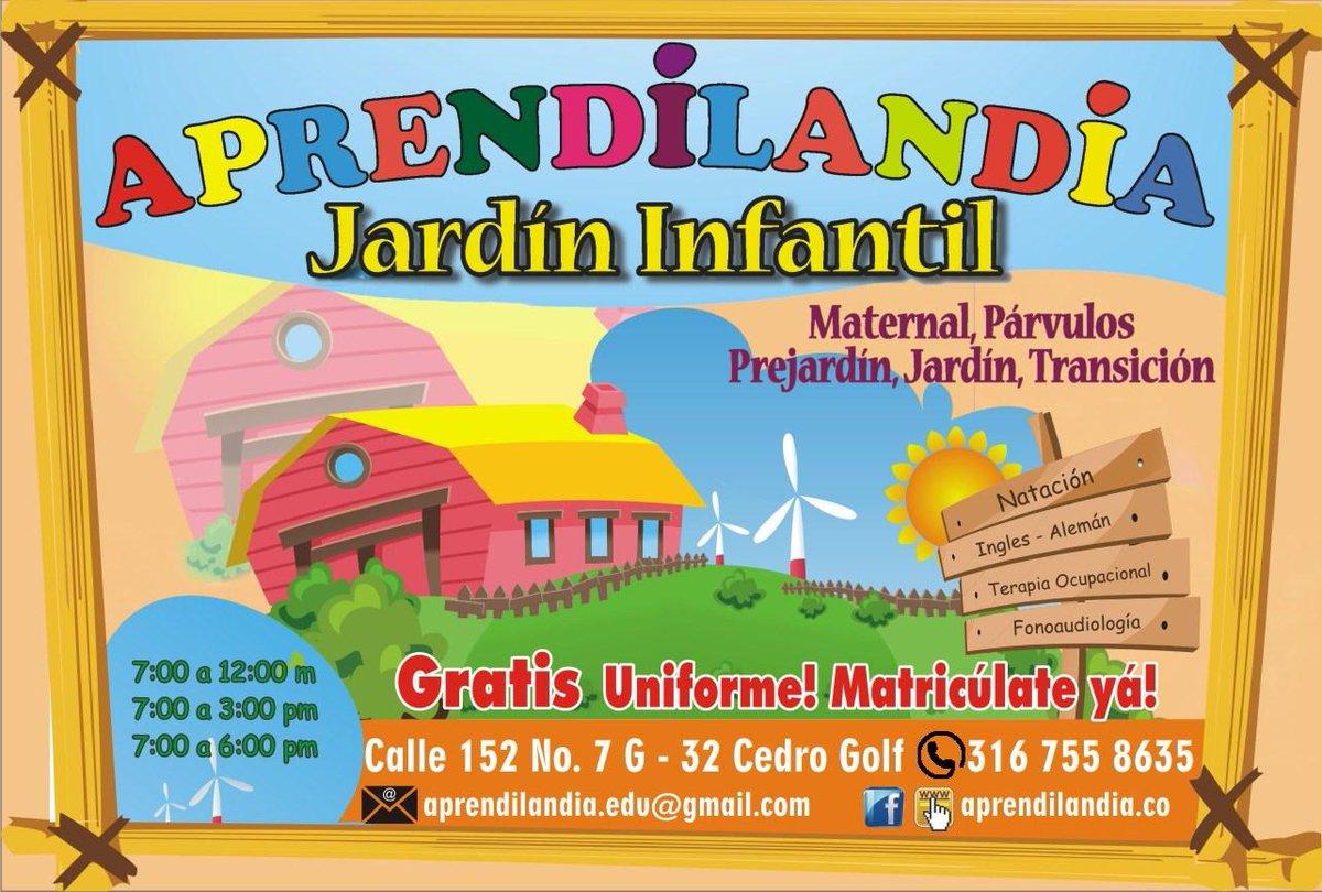 Jard n infantil aprendilandia twitter for Jardin infantil
