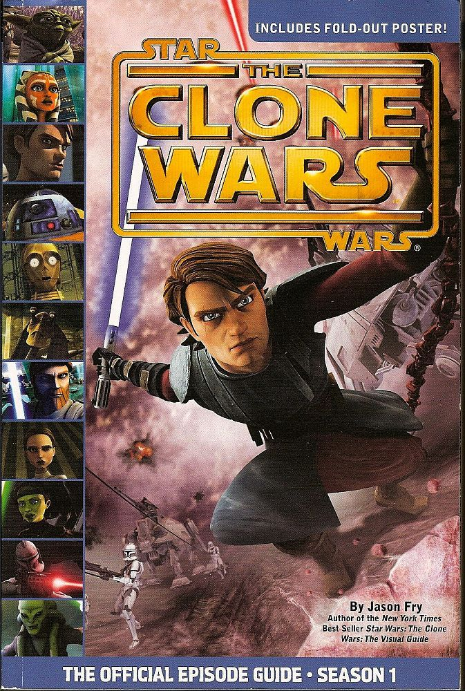 The Official Episode Guide:S1 #StarWars:The Clone Wars by Jason Fry 2009 https://t.co/YmErfN1bYT #CloneWars https://t.co/A12DLY0mtw