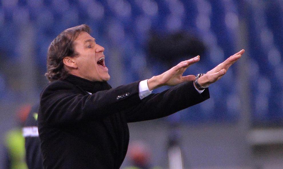 Il tecnico della Roma Rudi Garcia