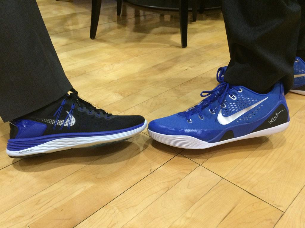 The Coaches And Staff Are Sporting Sneakers For Coaches Vs