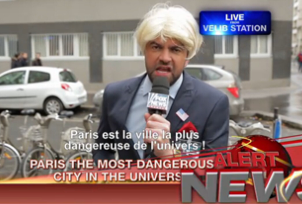 French Comedians Dress Up as Fox News Reporters, Enter Paris 'No-Go Zones' http://t.co/qS77OxVvow http://t.co/hQuIipeFtJ