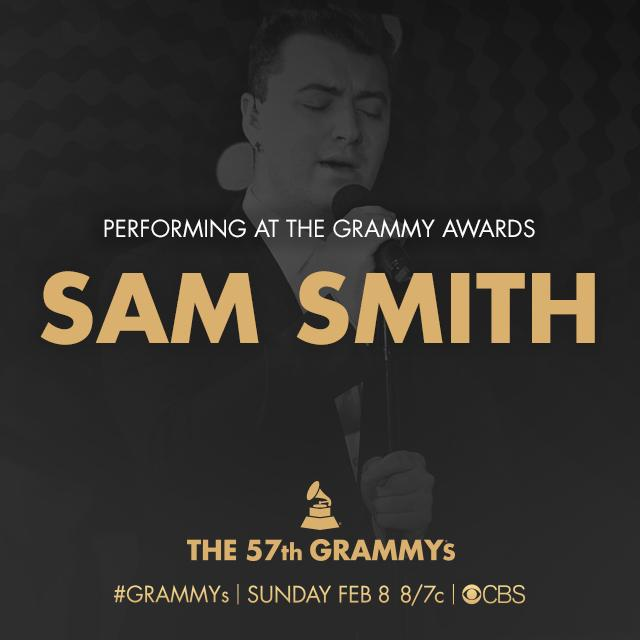 #SamSmith will make his debut on the GRAMMY stage with a performance on Music's Biggest Night! ⚓⚓⚓⚓ http://t.co/MadWU5IbtZ