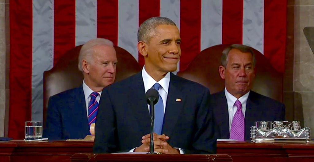 Il sesto discorso sullo stato dell'Unione del presidente Barack Obama
