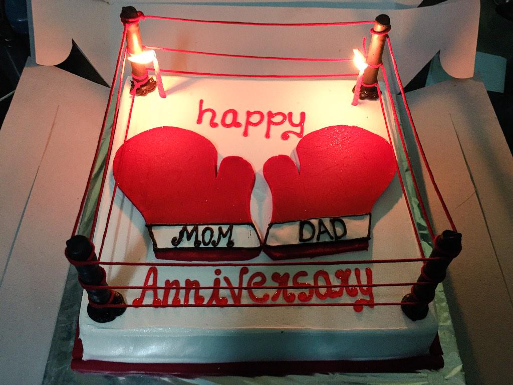 Anniversary Cake Pic For Mom Dad : Happy Anniversary Mom And Dad Cake www.pixshark.com ...