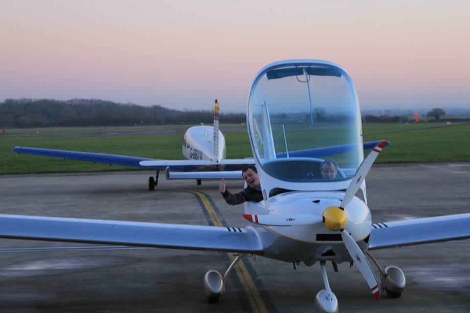 """""""@BACflyKemble: Fly our beautiful new PS28 from @CotswoldAirport only £120 per hour http://t.co/5fCtfinxjH"""" hooray x"""