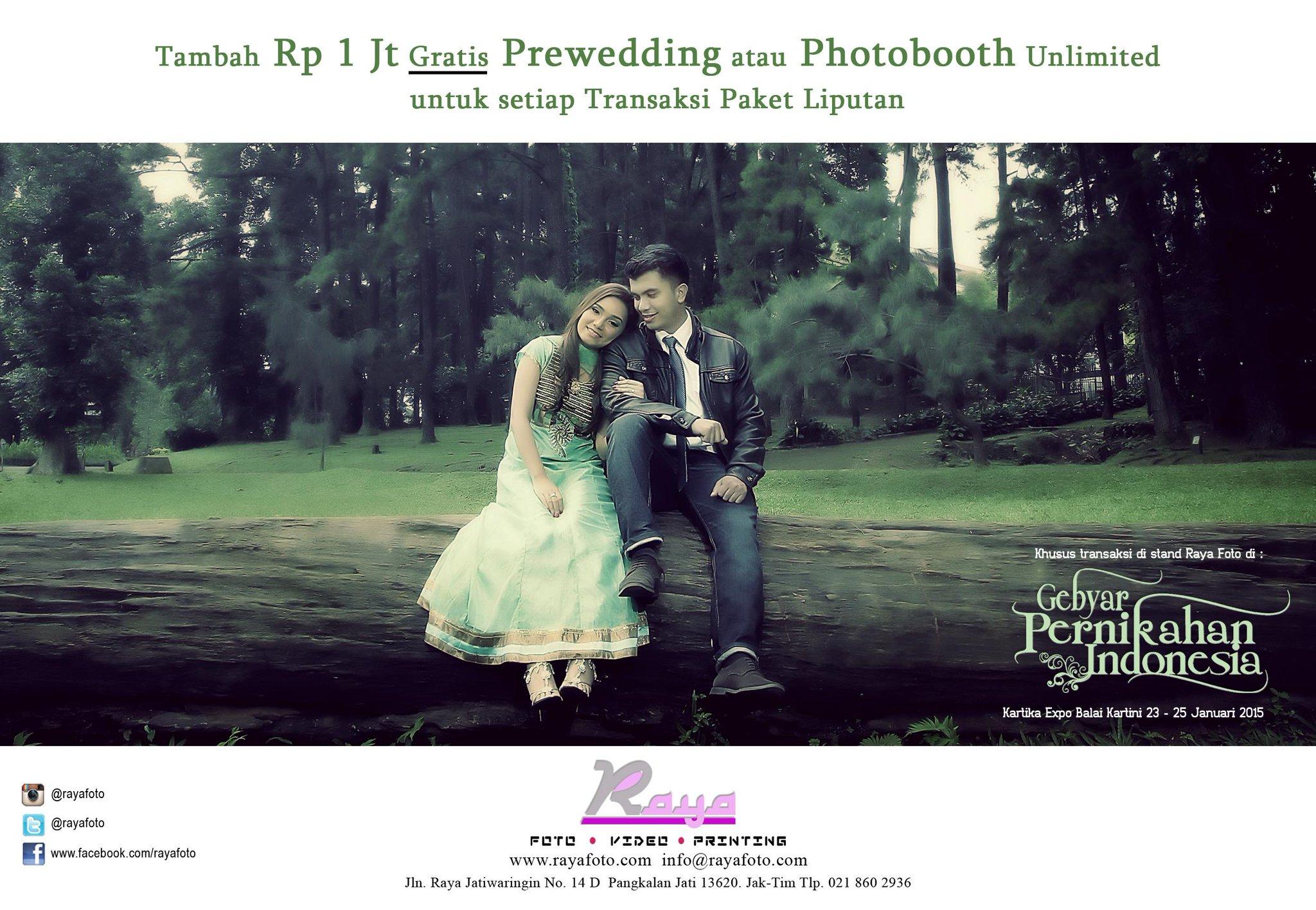 Promo Raya Foto di Gebyar Pernikahan Indonesia 2015