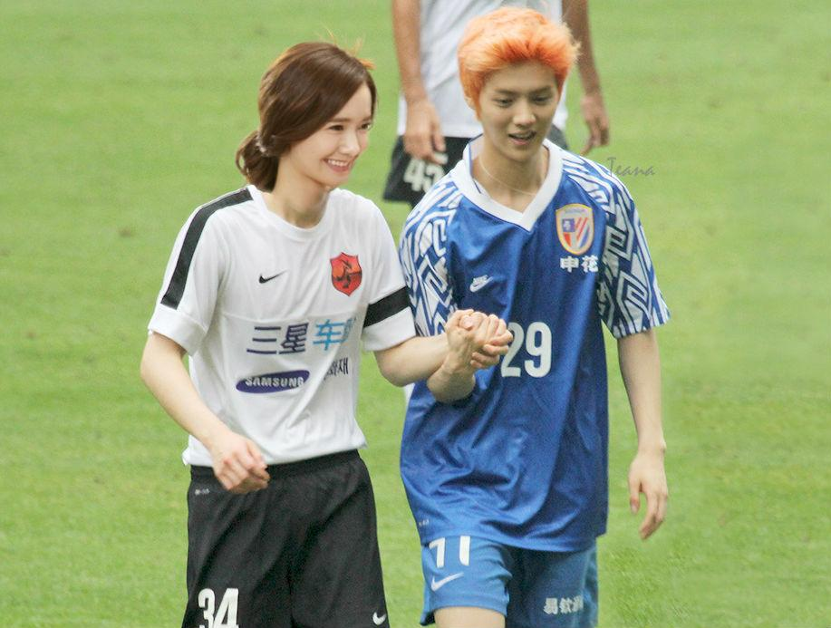 Sports Holding Hands