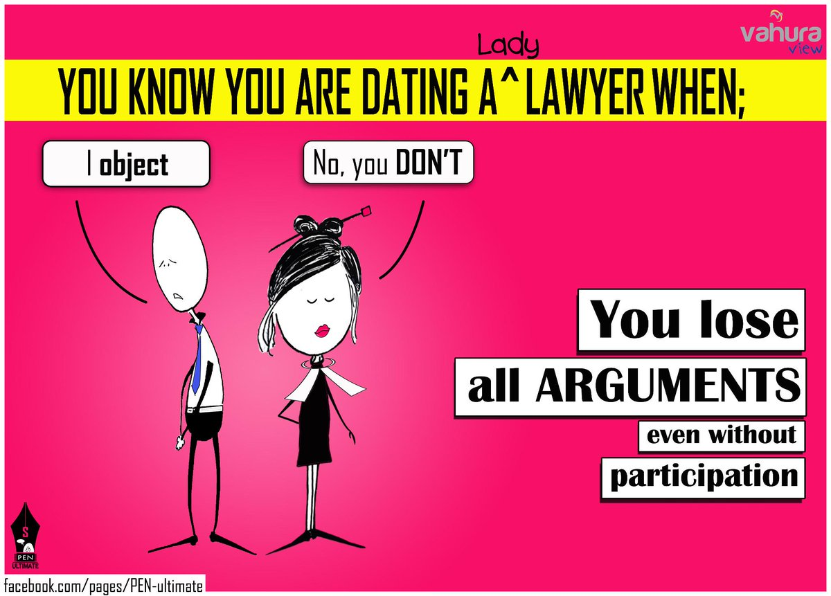 Dating a lawyer cartoons