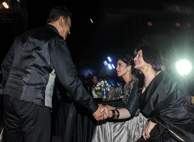 Kamal Haasan met ex-wife Sarika