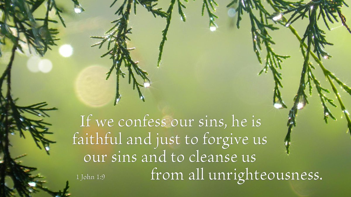 The forgiveness of sins... http://t.co/n0R54RsA4s #Bible #devotions #Christian #Lutheran #Confessions http://t.co/nIkL3hnAuF