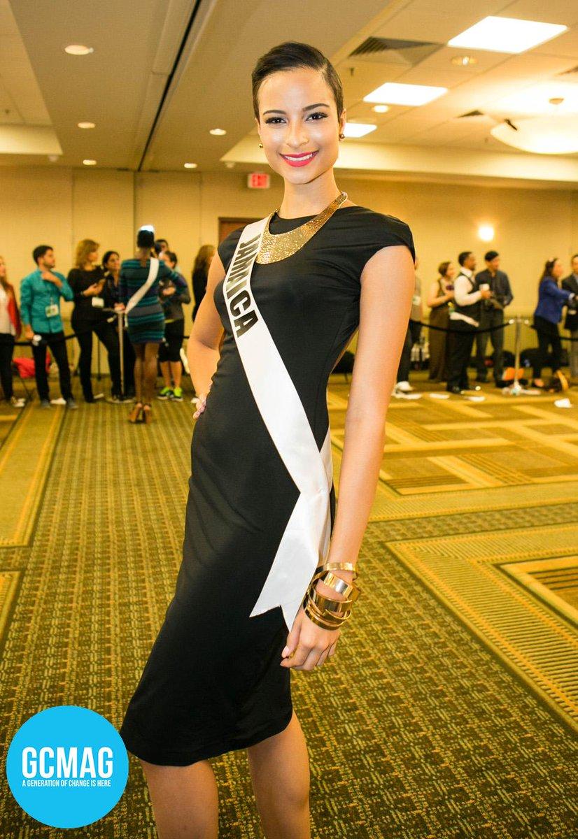 #missjamaica @KaciFen @missuniversejam & contestants today faced the press http://t.co/CutiliiVQ6 #missuniverse http://t.co/aU6zXceFOW