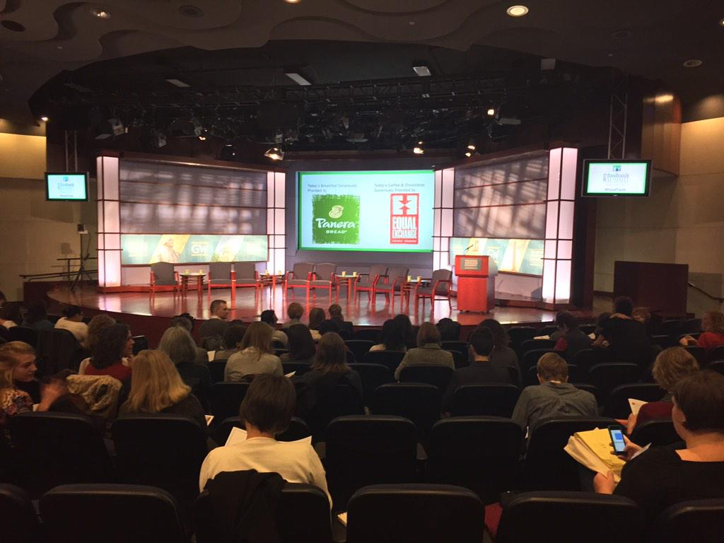 The stage is set for the @Food_Tank summit! #FoodTank http://t.co/1wKqYzcian
