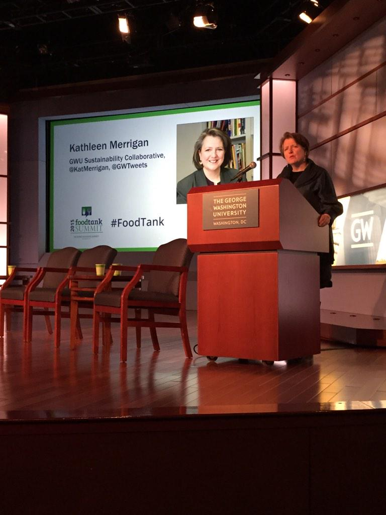 """Half of our land that's available is used for livestock - and demand is rising"" - @katmerrigan @GWtweets #FoodTank http://t.co/v2dkNBtzrm"