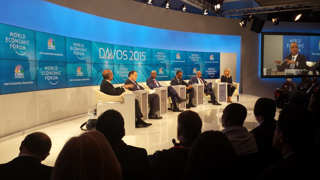 No women to discuss the current Africa's growth market. #Davos2015. Africa will not see growth without youth or women http://t.co/bEAW71VOIw