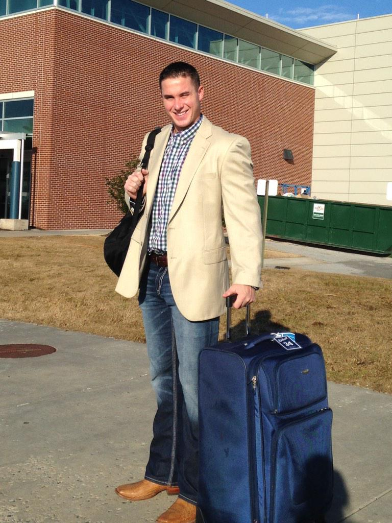 Sent @JamesMcCann34 off to his first #DETCaravan this am! Next stop...West Michigan! @tigers @MLB http://t.co/Gc73Rnpa00