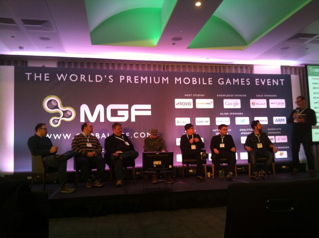 The who's who of the mobile gaming press are now on stage at #MGF2015 http://t.co/H5jlKzW2J6