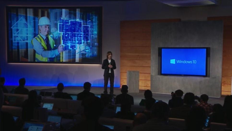 I am pretty confident no one saw this coming. #Windows10 Holographic http://t.co/qObj70P9UA
