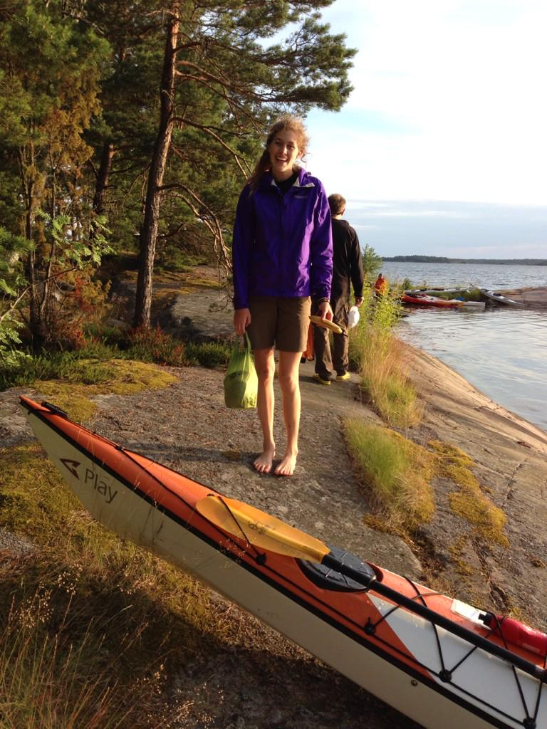 Oops forgot to tag #cf122 in my intro tweet! This is me after kayaking in Sweden the summer before last 😊 http://t.co/zWGH09f8Yr