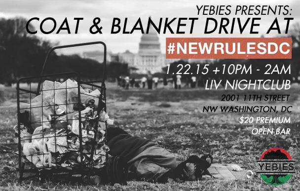 We are looking forward to all the coats & blankets! #NewRulesDC DJs are dope as well, so make sure we see you there.. http://t.co/ODyZKNMekH