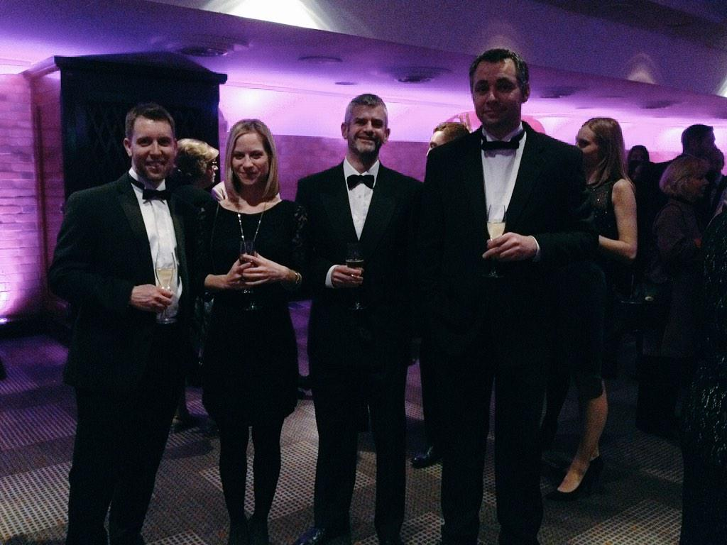 The Book Creator team, suited and booted for the @BettAwards #BETT2015   Up for Best Edu App. Wish us luck! http://t.co/EvPGDvwnOS