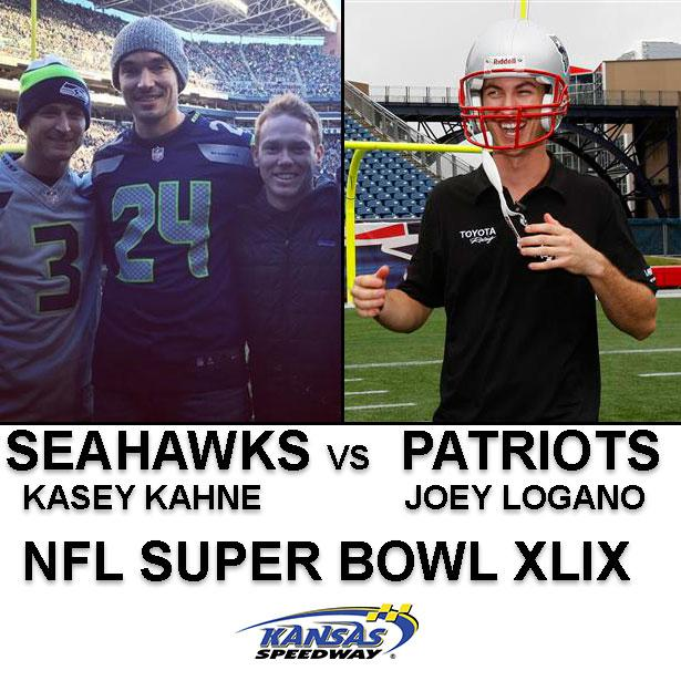 Who will you be cheering with in #SuperBowlXLIX RETWEET for @kaseykahne - FAVORITE for @joeylogano. http://t.co/8eeOzUc4My