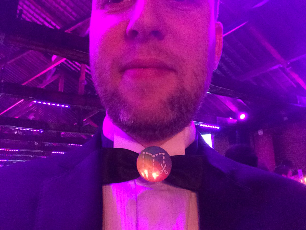 Sporting the much coveted @BookCreatorApp badge at the #Bettawards. Who wants one...? http://t.co/YsjvEQXvfA
