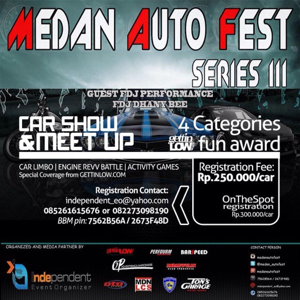 Vickovariansyahreza On Twitter CAR SHOW MEET UP Medan - Fun car show award categories