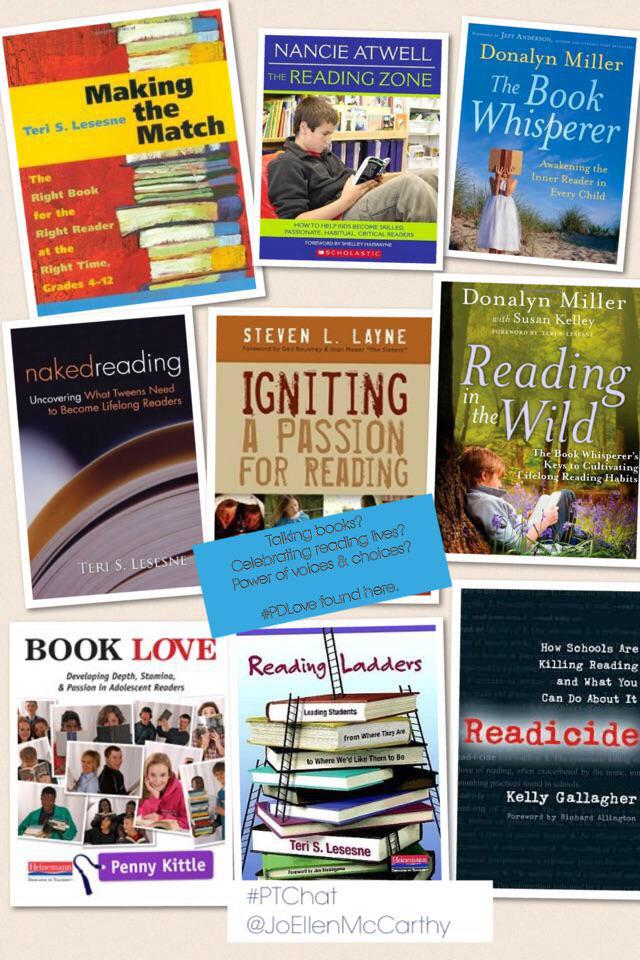 """MT""""@TedHiff: Join our guest @JoEllenMcCarthy: for #ptchat 9EST 2night. Voices & Choices for all readers http://t.co/O9lbKGAdiu @docbwilliams"""