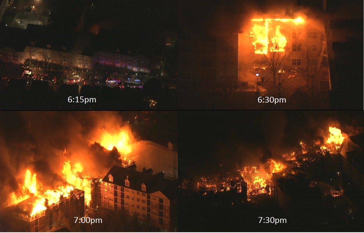 Hundreds left homeless in massive New Jersey apartment fire