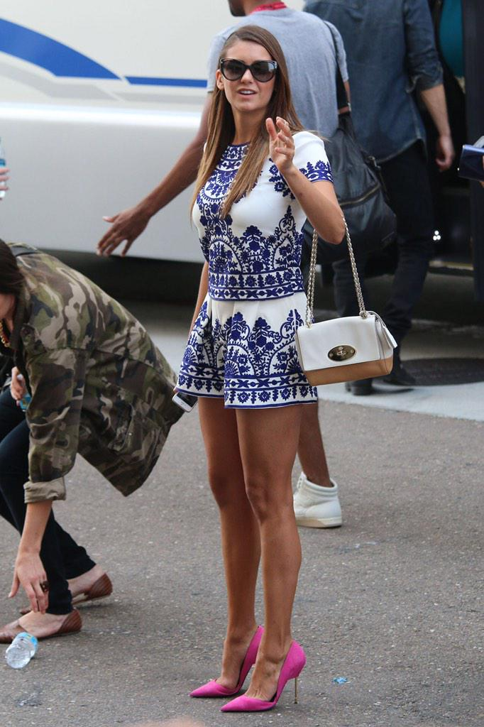 Celeb Style On Twitter Nina Dobrev Street Style Http