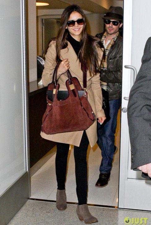 Celeb Style On Twitter Nina Dobrev Street Style