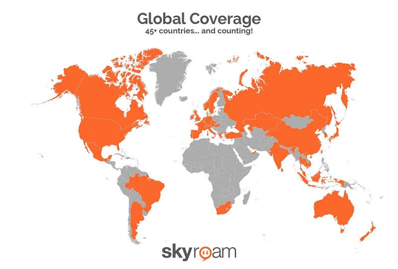 Map Of Just Asia.Skyroam On Twitter Just Updated Our Coverage Map In Asia Http T