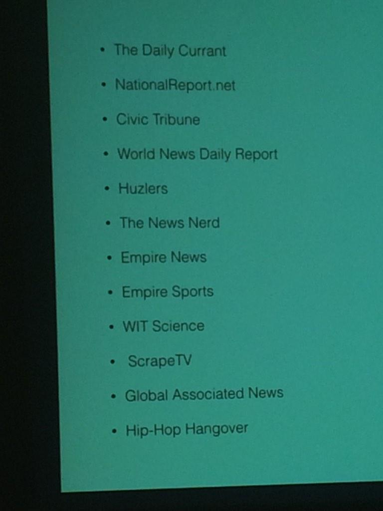 Watch out for these fake news sites, from @CraigSilverman's not-to-be trusted/shared list. #journalismlive http://t.co/q3J94xwg7G