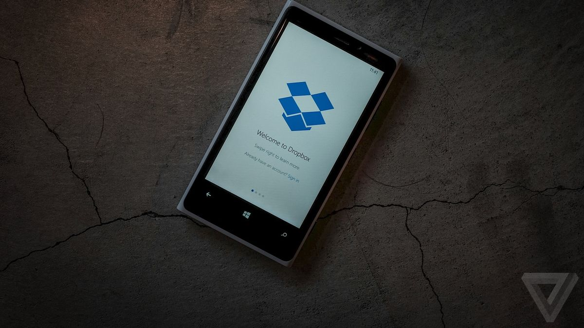 Dropbox is finally available for Windows Phone