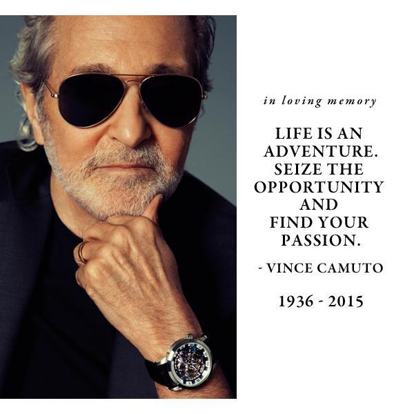 Vince Camuto, 1936 – 2015 http://t.co/kTjmvKin2s