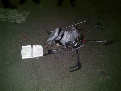 The crime of the future here today? A drug-smuggling #drone crashes in a parking lot. At 11p http://t.co/TAa3UPbl9h http://t.co/dtzLeaUkXY