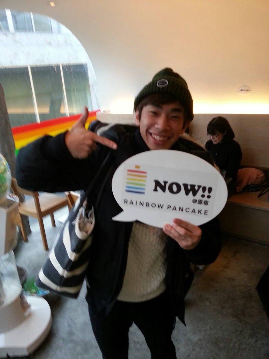 今日はフィギュア スケートの織田信成さんが遊びに来てくれました(^O^)/気さくでノリもよく、笑顔がとてもステキなスィーツ男子でした☆織田さん雨の中わざわざありがとうございました! http://t.co/jZednN9dlF