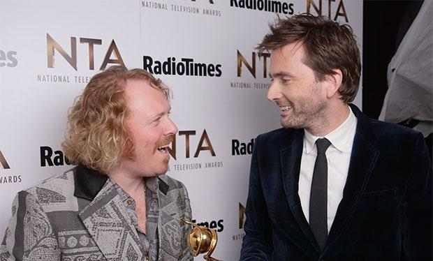 RT @SusannaLazarus: David Tennant videobombed my @lemontwittor interview backstage at last night's #NTAs! http://t.co/SmY9ujucPT http://t.c…